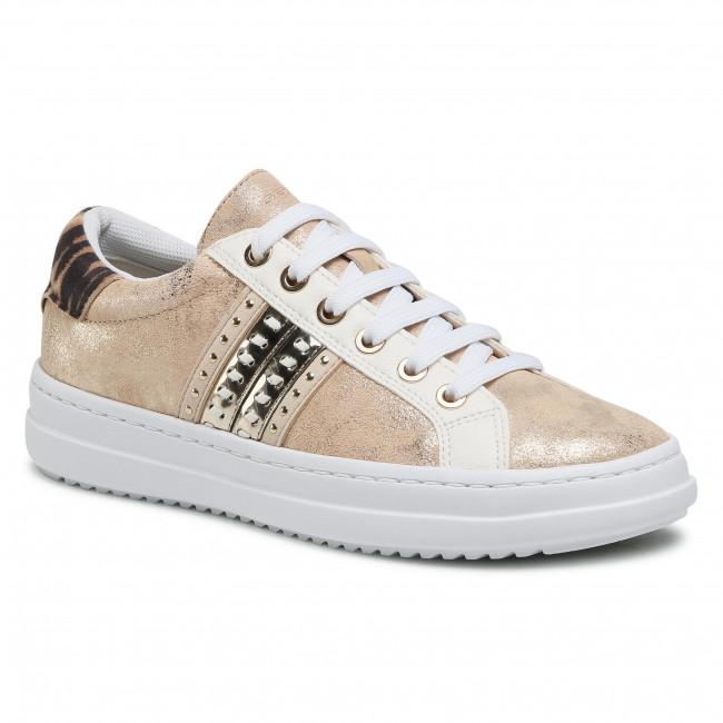 Sneakersy GEOX - D Pontoise D D02FED 077BN C5258 Sand/Lt Gold
