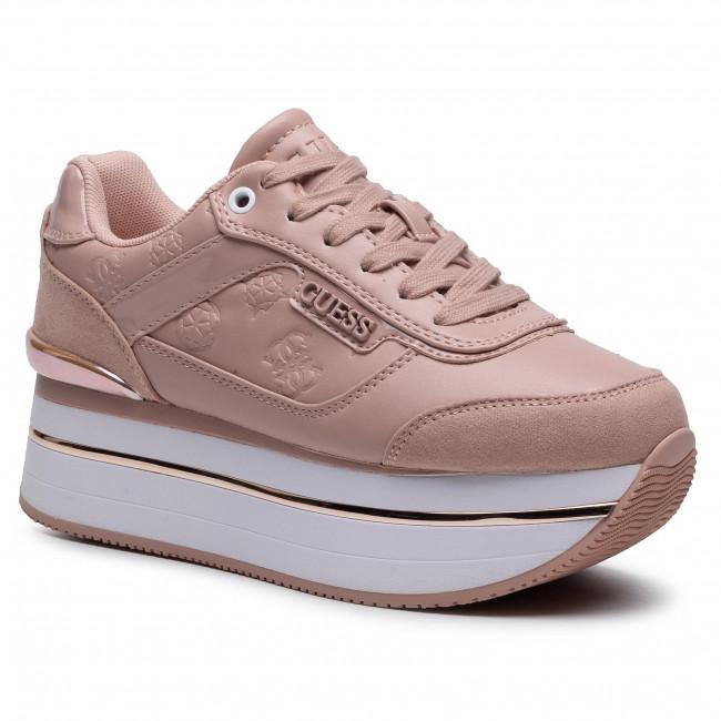 Sneakersy GUESS - Hansin FL5HNS PEL12 BLUSH