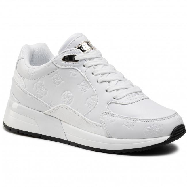 Sneakersy GUESS - Moxea2 FL5MX2 PEL12 WHITE