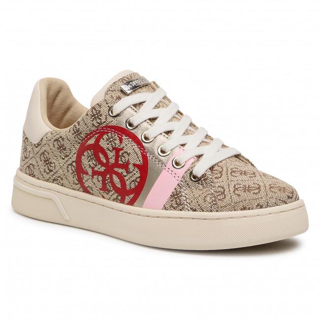 Sneakersy GUESS - Reata2 FL5RT2 FAL12  BEIGE