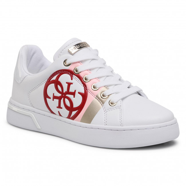 Sneakersy GUESS - Reta FL5RTA ELE12  WHIWH
