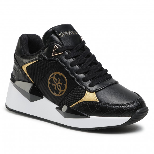 Sneakersy GUESS - Tesha FL5TES PEL12 BLKGO