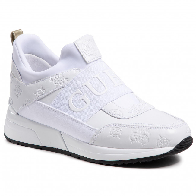 Sneakersy GUESS - Maygin FL6MYI PEL12 WHITE