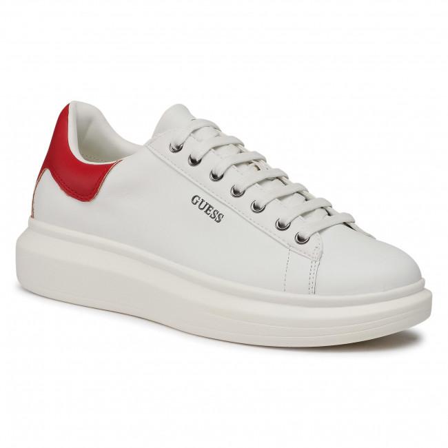 Sneakersy GUESS - Salerno FM5SLR LEA12 WHIRE