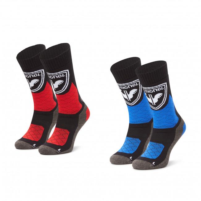 Súprava 2 párov vysokých ponožiek pánskych ROSSIGNOL - Termotech 2P RLJMX01  Black 200