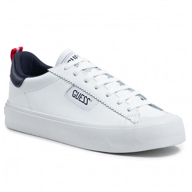 Sneakersy GUESS - Mima FM5MIM LEA12 WHBLU