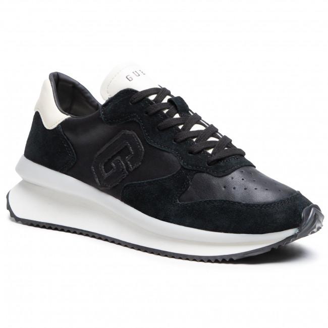 Sneakersy GUESS - Made FM5RUN LEA12 BLACK