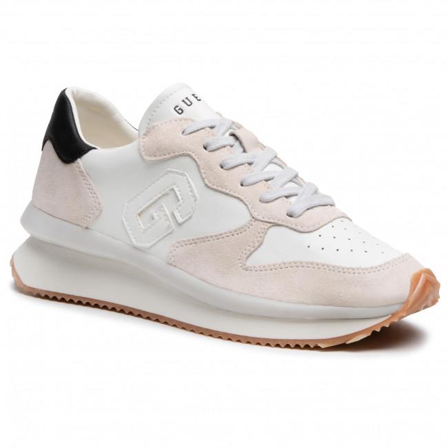 Sneakersy GUESS - Made FM5RUN LEA12  WHITE