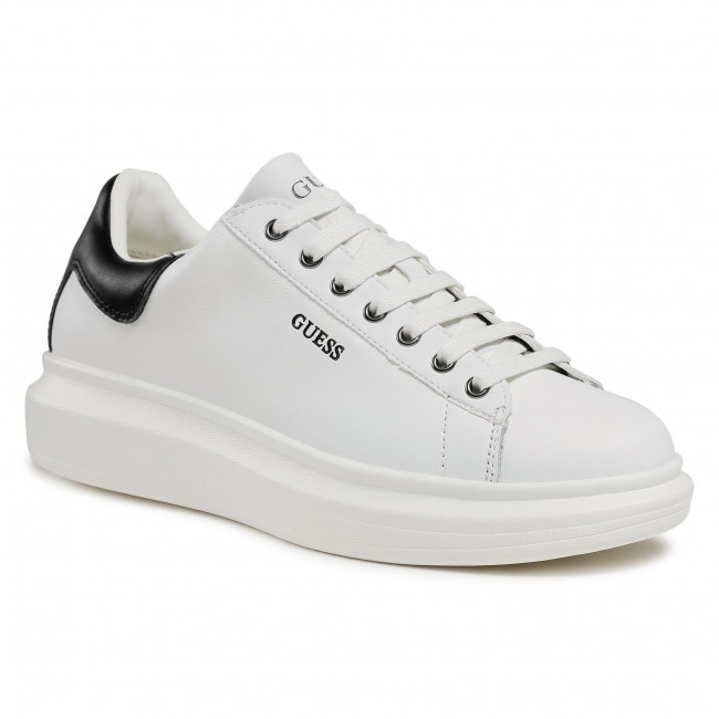 Sneakersy GUESS - Salerno FM5SLR LEA12 WHBLK