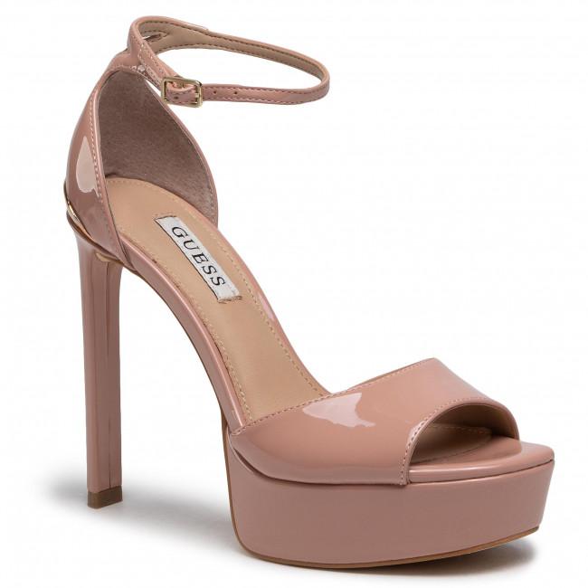Sandále GUESS - Alden2 FL5ADN PAF07 NUDE