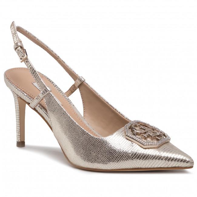 Sandále GUESS - Alvira FL5ALV LEA05 Plati