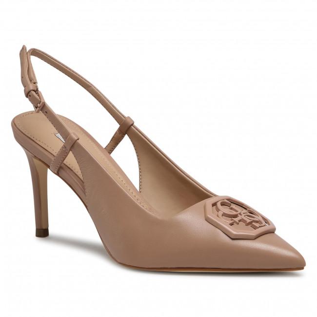 Sandále GUESS - Aleny FL5ALY LEA05 NUDE