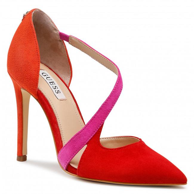 Lodičky GUESS - Ginetta FL5GTT SUE08 RED