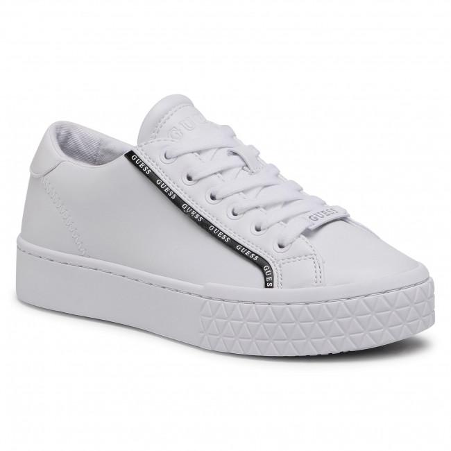 Sneakersy GUESS - Pardie FL5PRD ELE12 WHBLK