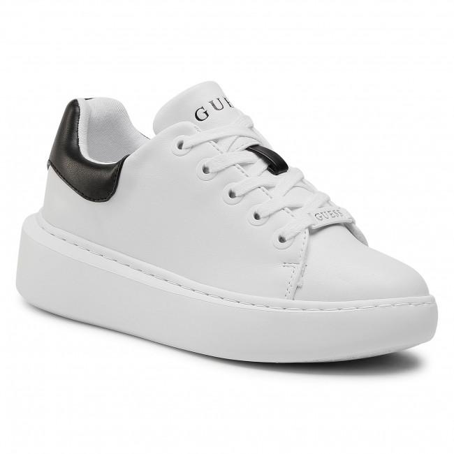 Sneakersy GUESS - Bradly FL6BRD ELE12 WHBLK