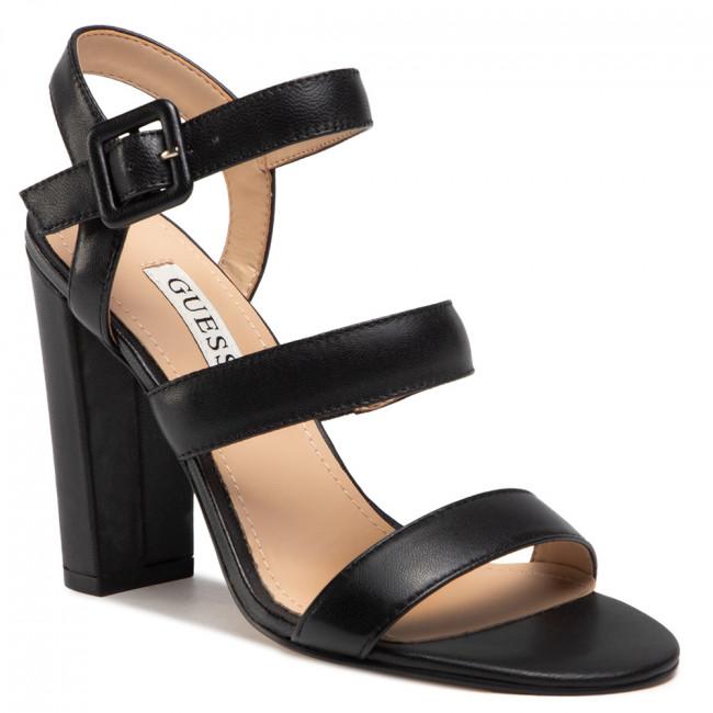 Sandále GUESS - Melodie FL6MEL LEA03 BLACK