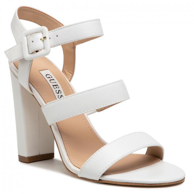 Sandále GUESS - FL6MEL LEA03 White
