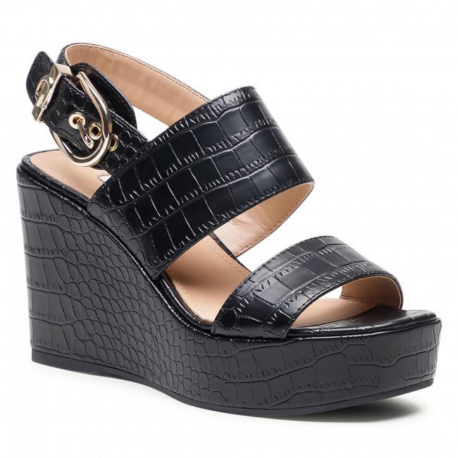 Sandále GUESS - Nolita FL6NOL PEL04 Black