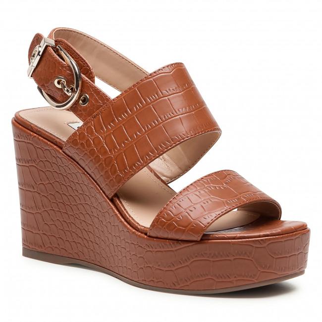 Sandále GUESS - Nolita FL6NOL PEL04 COGNA