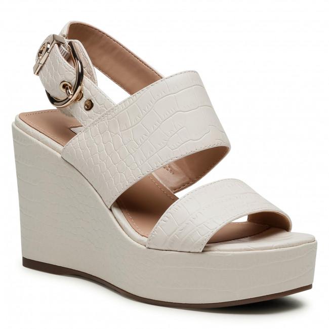 Sandále GUESS - Nolita FL6NOL PEL04 CREAM