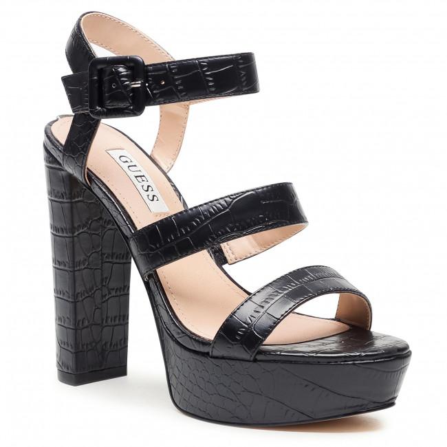 Sandále GUESS - Rayona2 FL6RY2 PEL03 BLACK