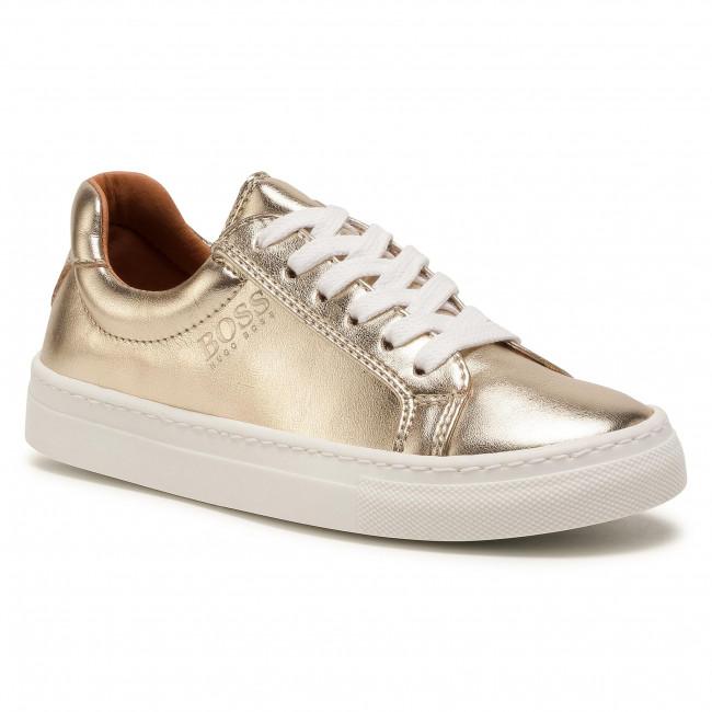Sneakersy BOSS - J19044 D Golden Z98