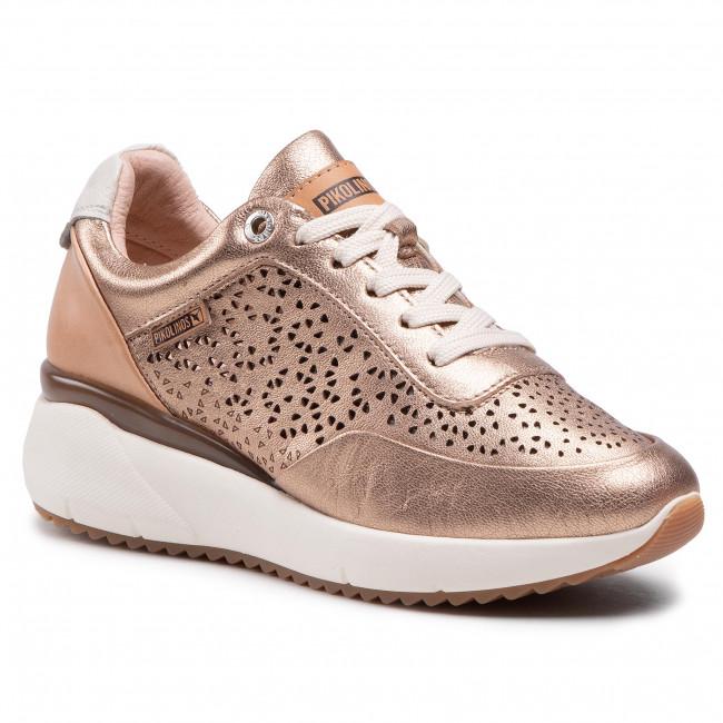 Sneakersy PIKOLINOS - W6Z-6869CL Champagne