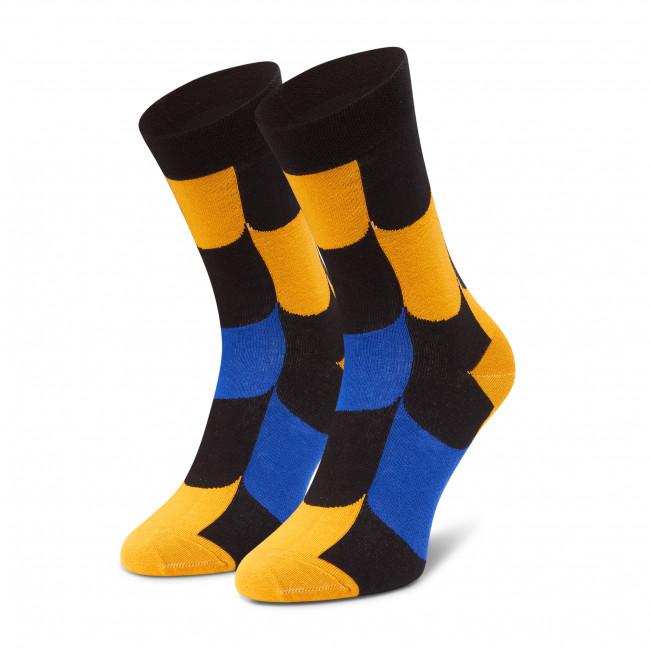 Ponožky Vysoké Unisex FREAKERS - LMLUS-GRA Farebná Žltá