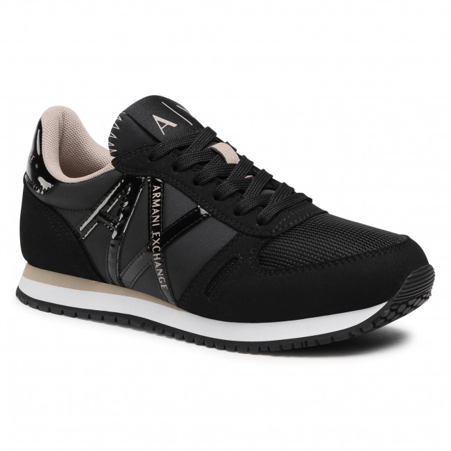 Sneakersy ARMANI EXCHANGE - XDX031 XCC62 K516 Black/Stone