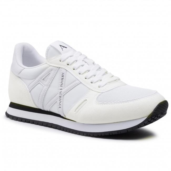 Sneakersy ARMANI EXCHANGE - XUX017 XCC68 00152 Full Opt. White