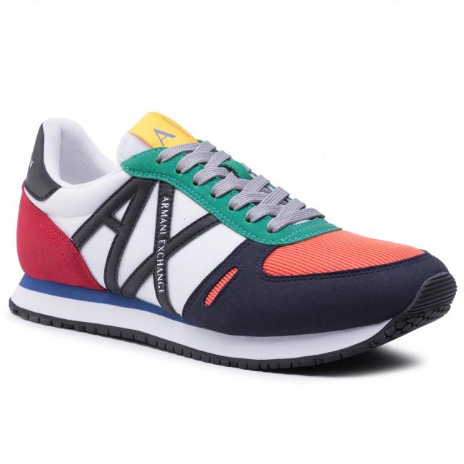 Sneakersy ARMANI EXCHANGE - XUX017 XCC68 K512 Op. White/Multicolor