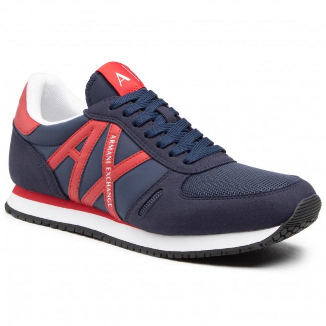 Sneakersy ARMANI EXCHANGE - XUX017 XCC68 K532 Indigo/Red