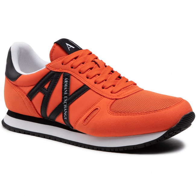 Sneakersy ARMANI EXCHANGE - XUX017 XCC68 R560 Orange/Black