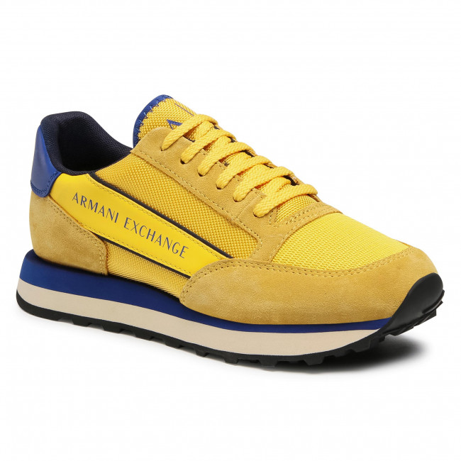 Sneakersy ARMANI EXCHANGE - XUX083 XV263 K559 Yellow/Bluette/Navy
