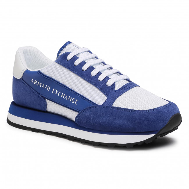 Sneakersy ARMANI EXCHANGE - XUX083 XV263 K560 Bluette