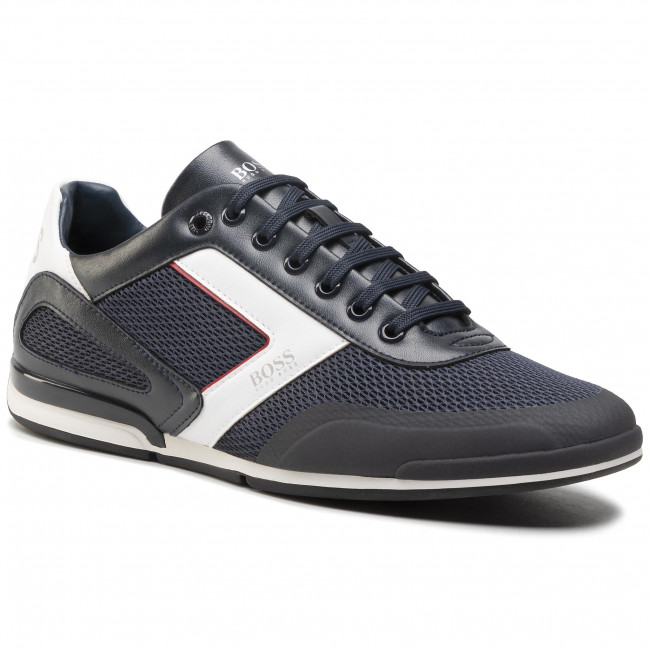 Sneakersy BOSS - Saturn 50445677 10230782 01  Dark Blue 401