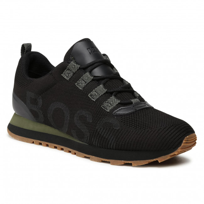 Sneakersy BOSS - Parkour 50446019 10232616 01 Black 001