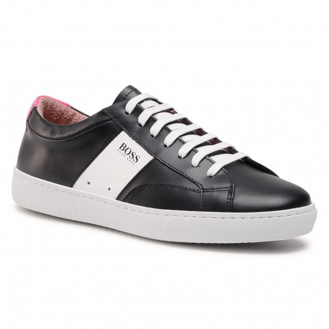 Sneakersy BOSS - Olga Low Cut Mix 50447447 10201909 01  Black 003