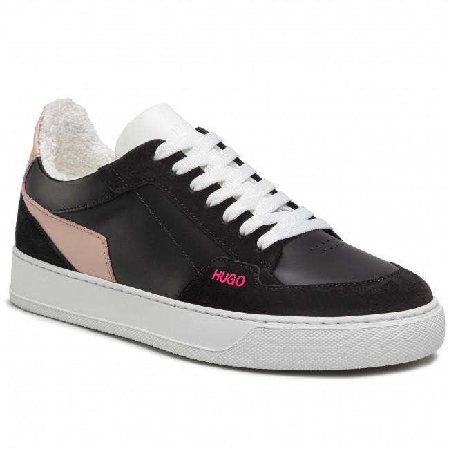 Sneakersy HUGO - Vera Lace Sneaker 50447267 10201909 01 Black 002