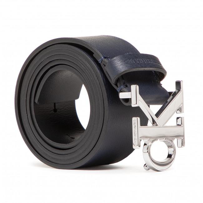 Opasok Pánsky CALVIN KLEIN JEANS - Mono Plaque Belt 35Mm K50K506548 Navy CFE