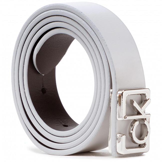 Opasok Dámsky CALVIN KLEIN JEANS - Plaque Skinny Belt 20Mm K60K607325 PAA