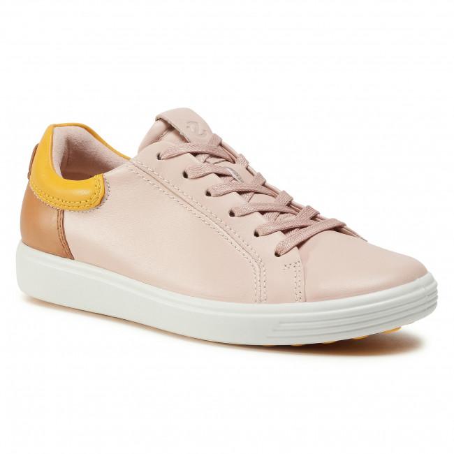 Sneakersy ECCO - Soft 7 W 47009351898 Rose Dust/Merigold/Lion