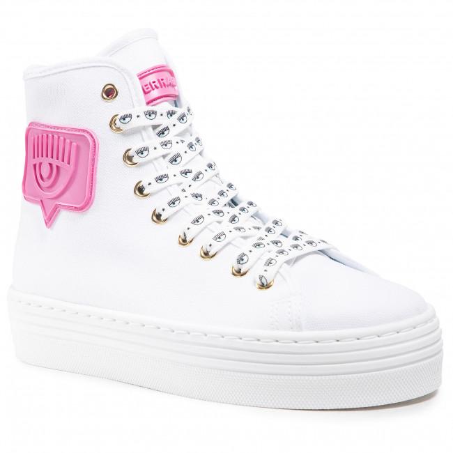 Sneakersy CHIARA FERRAGNI - CF2806-009 White
