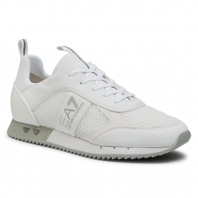 Sneakersy EA7 EMPORIO ARMANI - X8X027 XK050 00175 White/Silver