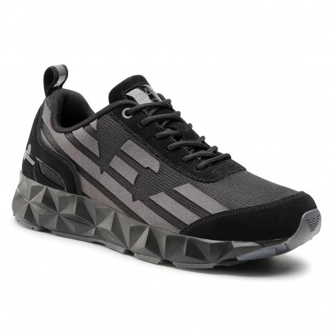 Sneakersy EA7 EMPORIO ARMANI - X8X033 XK162 N408 Black/Iron/Silver