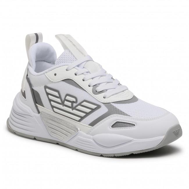 Sneakersy EA7 EMPORIO ARMANI - X8X070 XK165 00175 White/Silver