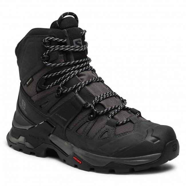 Trekingová obuv SALOMON - Quest 4 Gtx GORE-TEX 412926  27 V0 Magnet/Black/Quarry