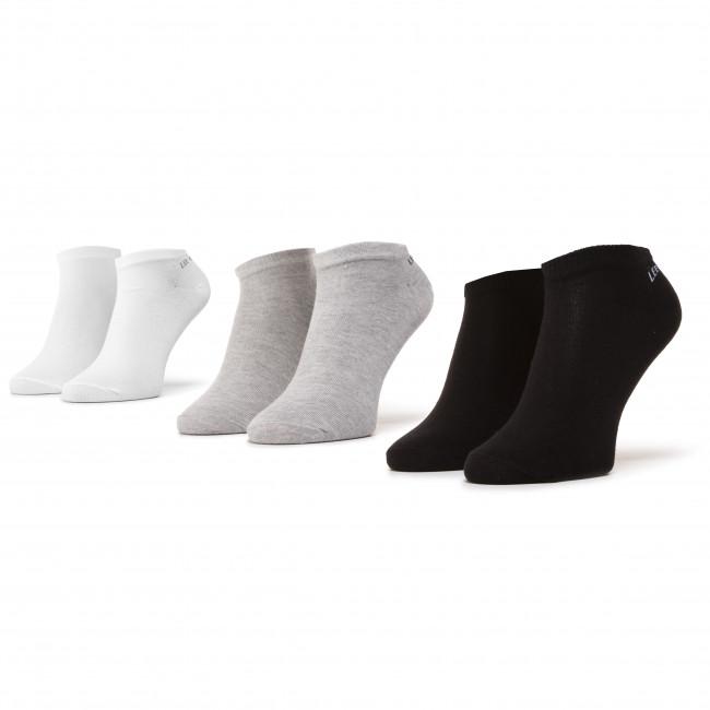 Súprava 3 párov kotníkových ponožiek dámskych LEE COOPER - Snesocks 1802 Mix 1