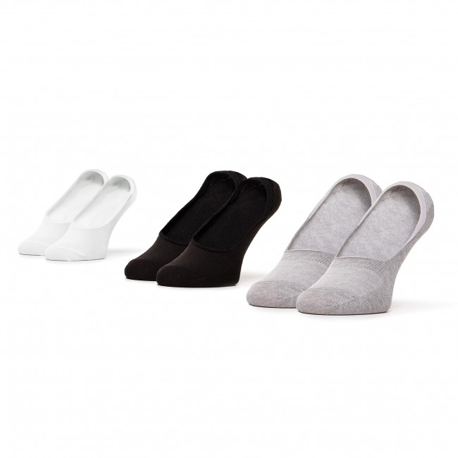 Súprava 3 párov kotníkových ponožiek dámských LEE COOPER - Invsocks 1802 Mix