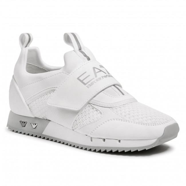 Sneakersy EA7 EMPORIO ARMANI - X8X066 XK199 00175 White/Silver